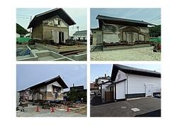 震災の記録⑩(沈下修正工事 他)