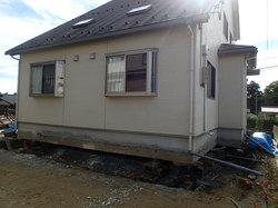 家改修 基礎共移動工事 竣工しました。