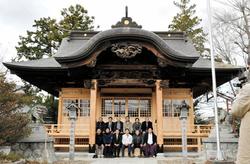 双葉 初発神社再建