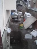 一般住宅 沈下修正工事