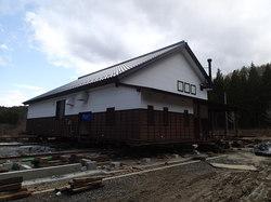 ふるさと体験館 災害復旧工事