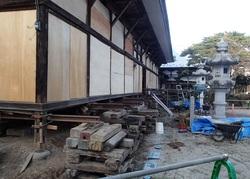 観音寺 本堂改修工事