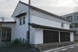 切妻平入り形状の店蔵 改修工事
