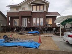 浸水対策 住宅基礎嵩上げ工事